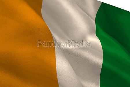 elfenbeinkueste nationalflagge