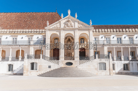 entrance to the coimbra university