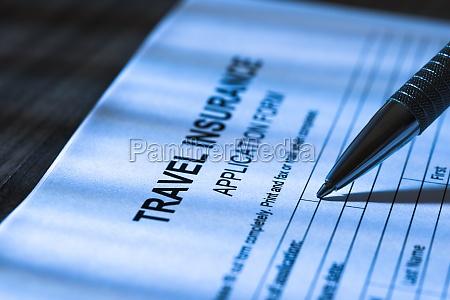 person fuellen reiseversicherung antragsformular
