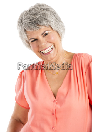 elderly woman in different moods