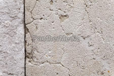detail stein rauh mauer ruin ruine