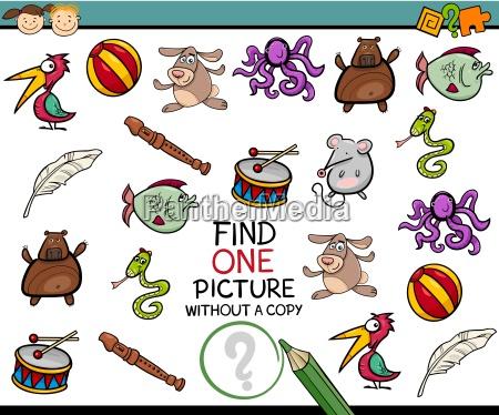 finden einzelbild spiel cartoon