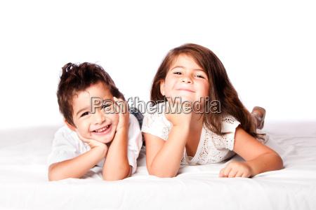 nette kinder geschwister