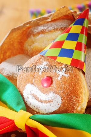 creative colorful carnival food