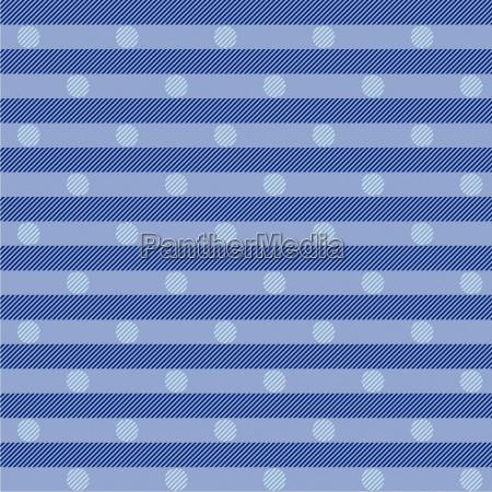 blauer stoff mit punkten