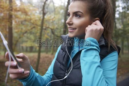 gute musik waehrend des jogging ist