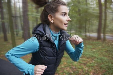 joggen an der frischen luft kann