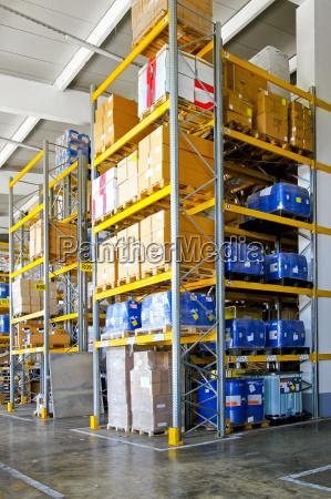 chemische materiallager