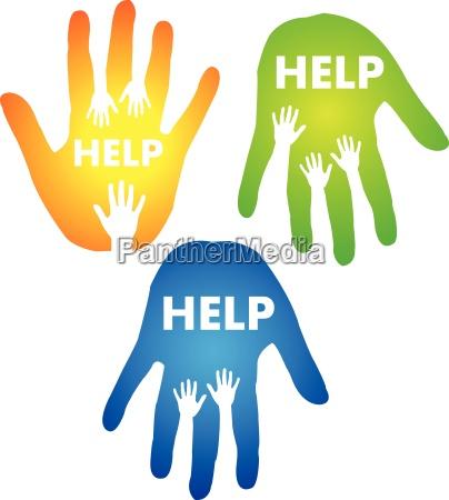 helping hands konzept