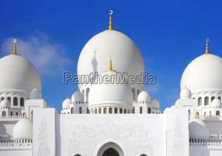 scheich zahid moschee in abu dhabi