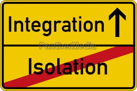 isolation und integration