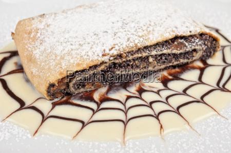 pfannkuchen, mit, mohn - 13901641