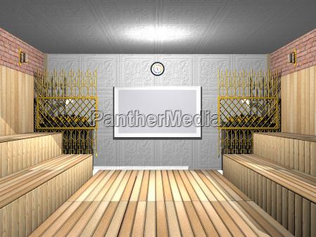 grossraeumige sauna