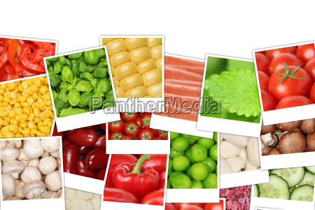 background from vegetables such as tomatoes