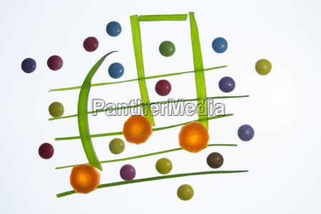 colorful and healthy music