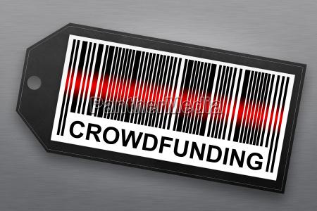 crowdfunding barcode