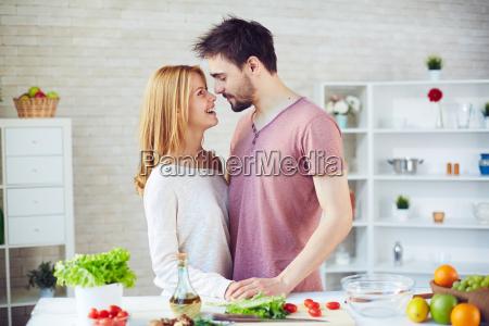 kitchen romance