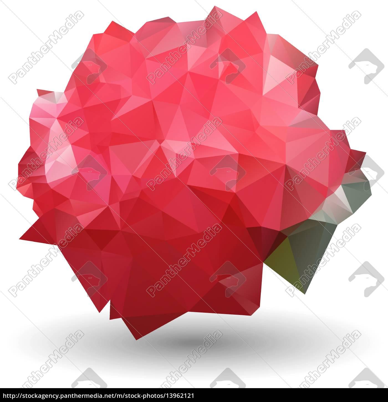 Set Aus Verschiedenen Stil Rot Auf Weißem Hintergrund