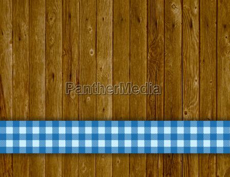 blau holz tischdecke retro tafel tisch