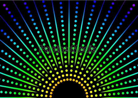 dotted rainbow background