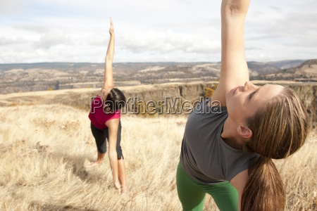freundschaft entspannung feld usa wohlfuehlen horizontal