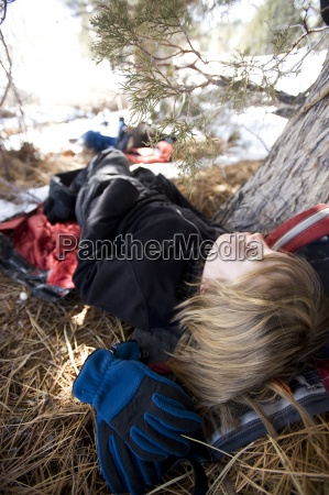 winter usa kalifornien schlaf schlafen schlaeft