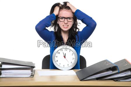 stressiger bueroalltag