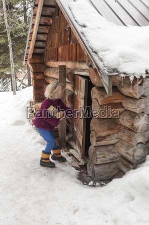 winter holz kanada outdoor freiluft freiluftaktivitaet