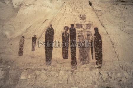 die piktogrammen canyonlands nationalpark utah