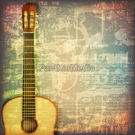 abstract grunge piano background with acoustic