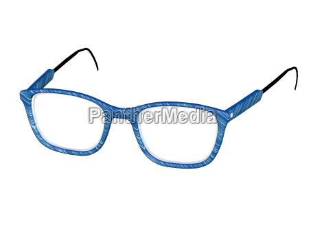 moderne brille freigestellt