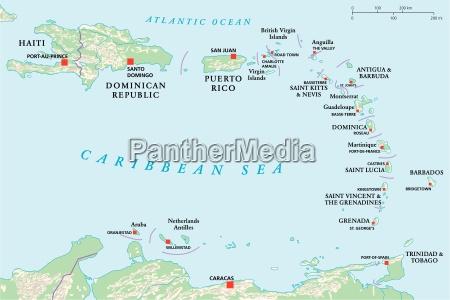 lesser antilles haiti dominican republic