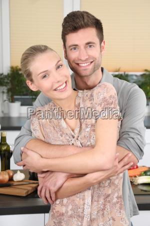 glueckliches paar