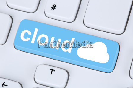 symbol cloud computing online im internet
