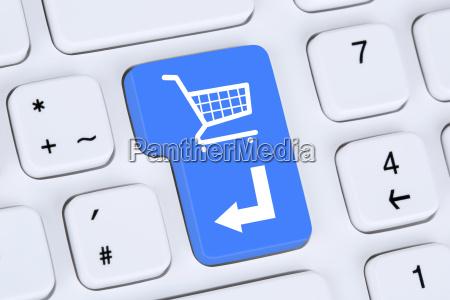 online shopping e commerce bestellen und