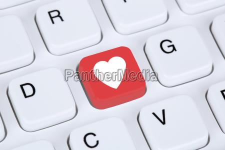 partner, und, liebe, im, internet, online - 14039127