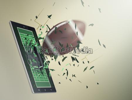 fussball und neue kommunikationstechnologie