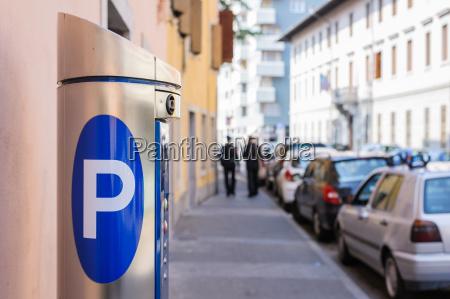 maschine parken