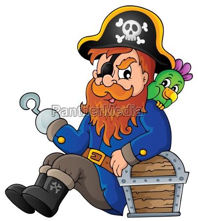 sitzen piratenthema bild 1