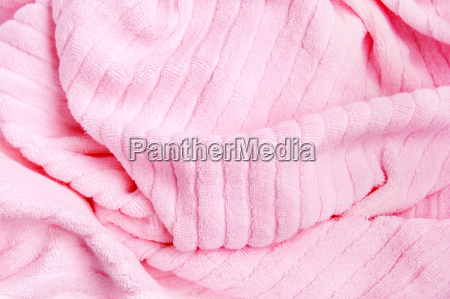 rosa handtuch