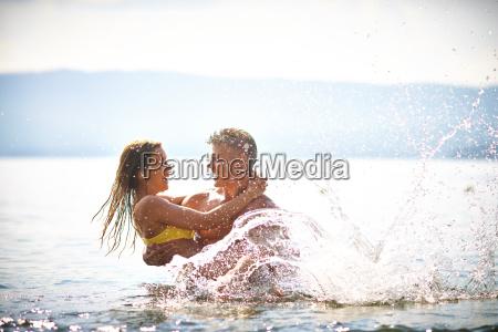 ecstatic couple