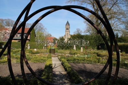 ein klostergarten