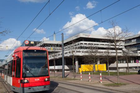 tram an der universitaet bremen
