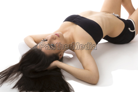 sexy stretching