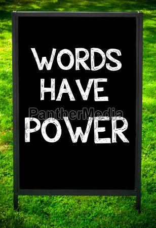 woerter haben power