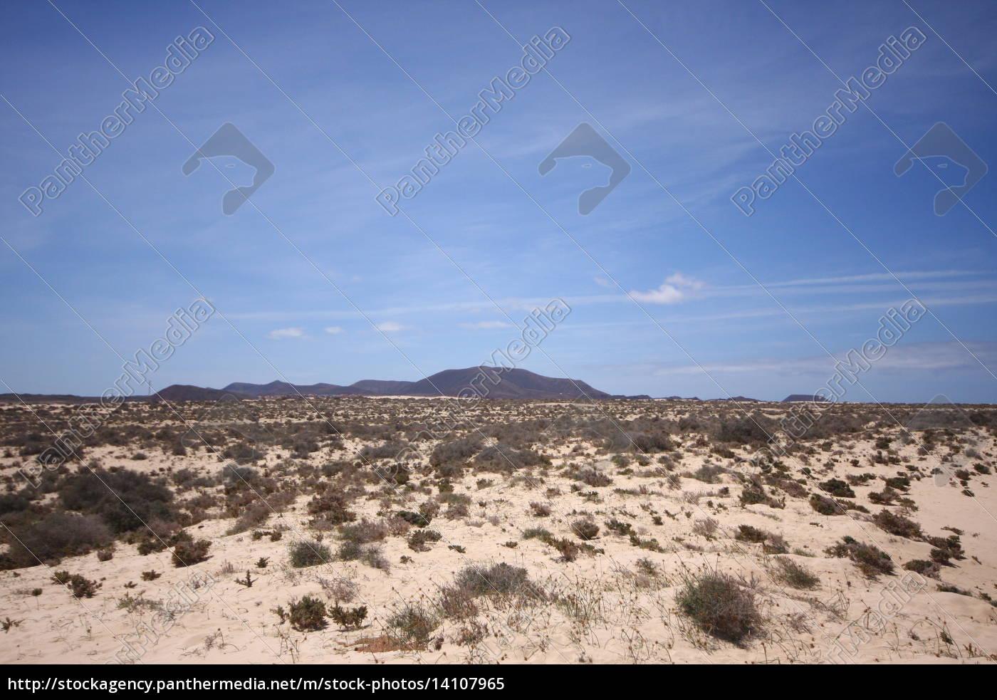 Wüste, Düne, Sand , Fuerteventura, Kanaren, Wolken - 14107965
