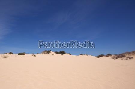 Wüste, Düne, Sand , Fuerteventura, Kanaren, Wolken - 14107969