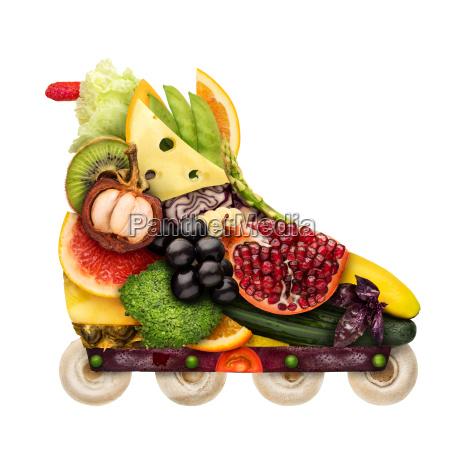 veggie inline roll