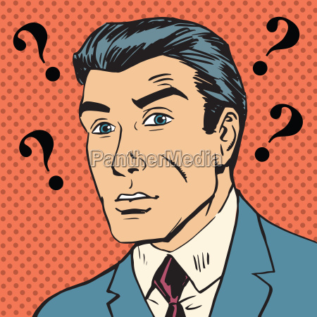 male question marks misunderstanding enigma men