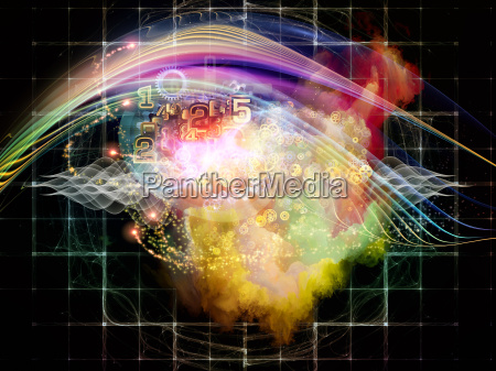 abstract visualization background